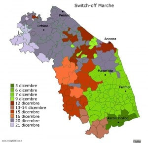mappa switch-off marche