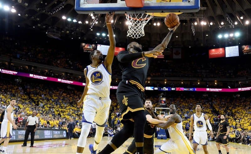 cleveland Lebron James golden state