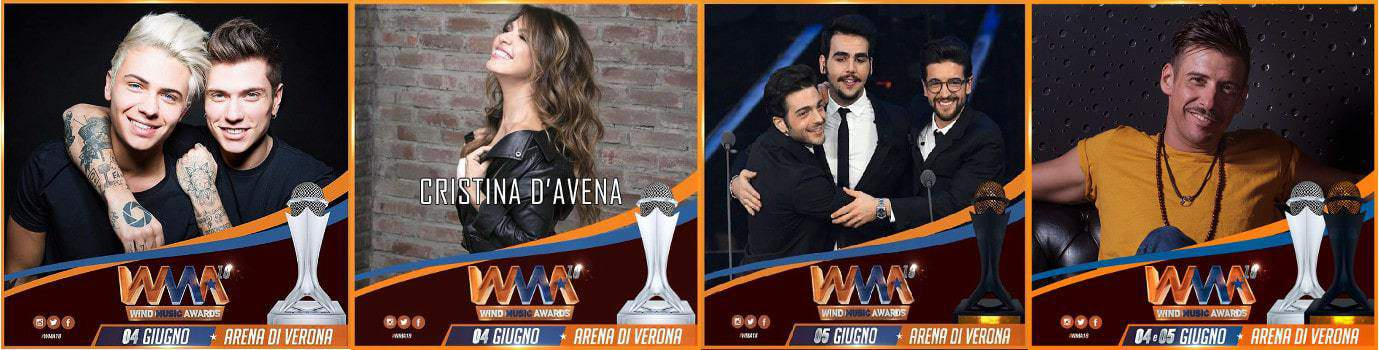 wind-music-awards-2018-cantanti