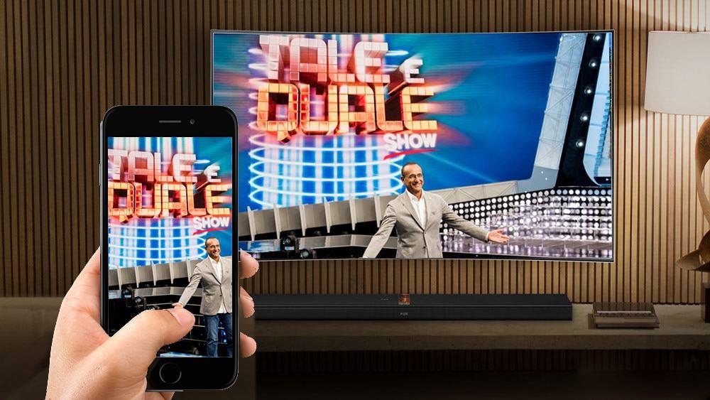 come collegare il telefono alla tv