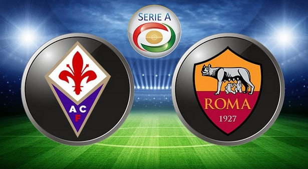 fiorentina roma in tv e streaming