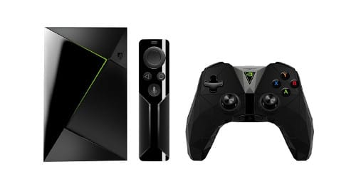 NVIDIA SHIELD TV, telecomando e controller incluso
