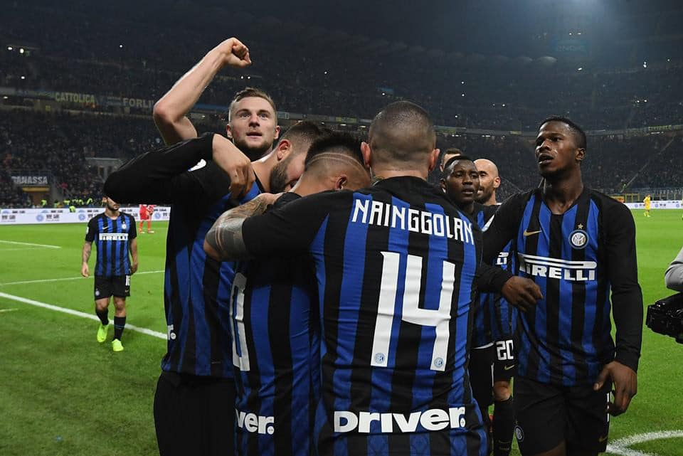 Tottenham Inter in tv champions league
