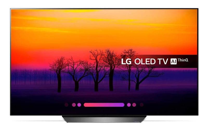 LG OLED AI ThinQ 55B8 Black friday 2018