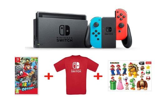 Nintendo Switch - Blu Rosso Neon