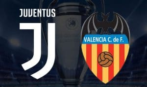 juventus valencia in strreaming e in tv