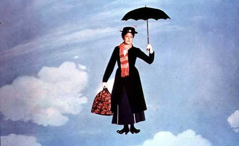 Mary Poppins è tra i film Disney Natale 2018 in TV
