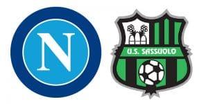 Napoli Sassuolo in streaming e in tv