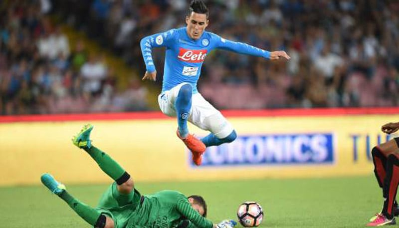 Napoli Sassuolo in streaming Coppa Italia 2019