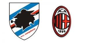 Sampdoria Milan in tv e in streaming