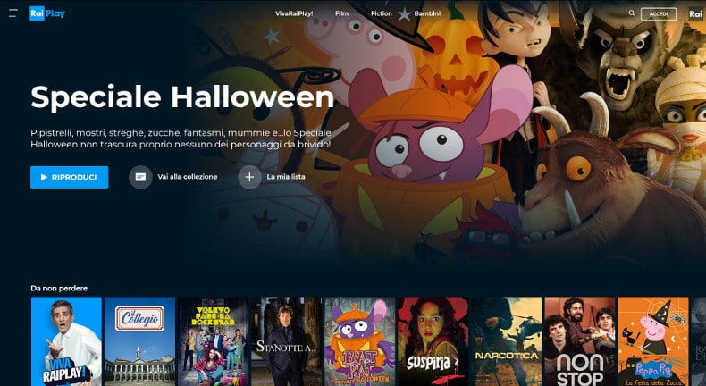 RaiPlay tv streaming rai come funziona