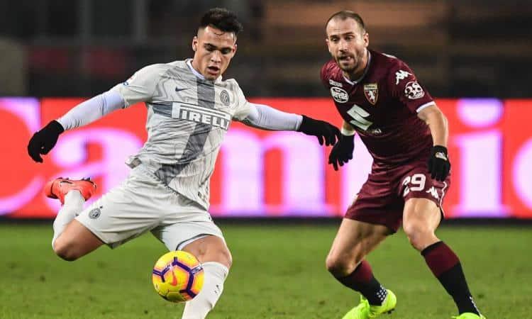 torino Inter in streaming in tv dazn