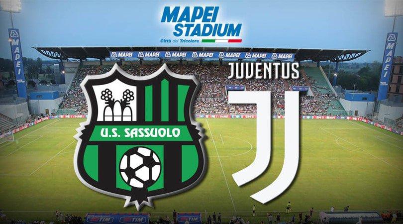 Sassuolo Juventus in streaming
