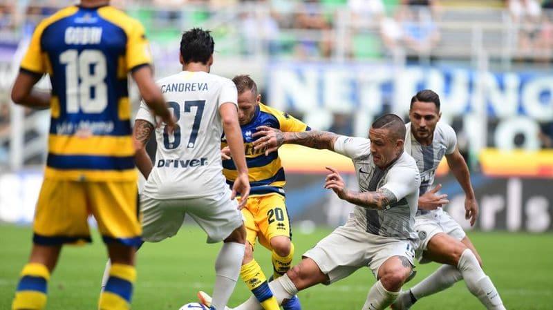 Parma Inter in tv