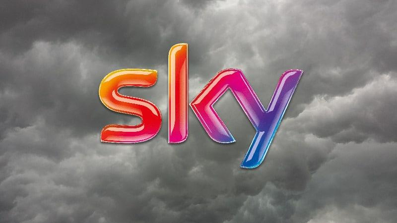 assenza segnale sky maltempo , problemi ricezione canali sky