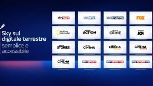 Come sintonizzare i canali Sky sul digitale terrestre