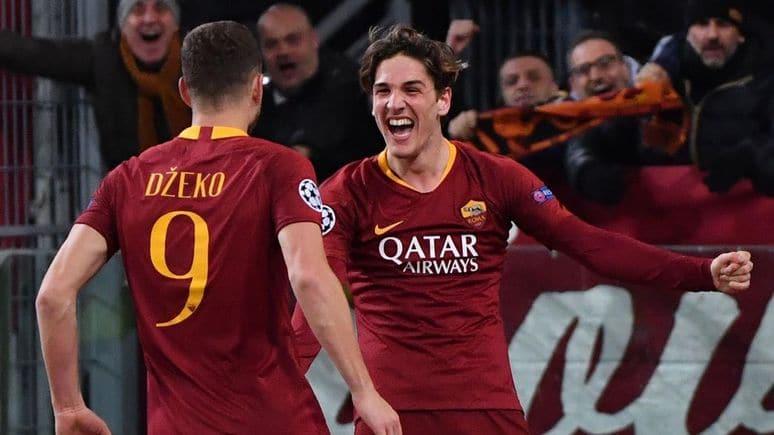 come vedere Roma Frosinone in TV e in streaming zaniolo