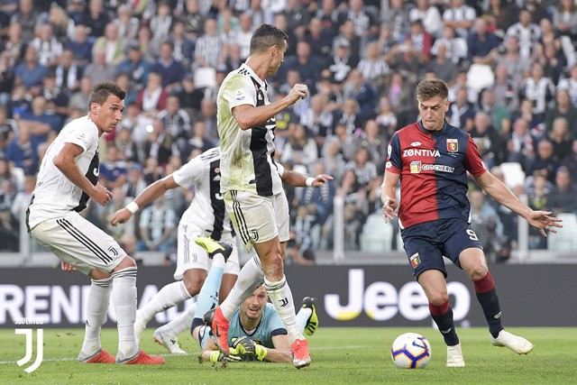 Genoa Juventus in streaming e in tv