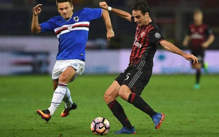 Dove guardare Sampdoria Milan in TV e in streaming