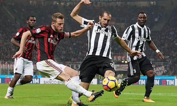 Dove guardare Juventus Milan in streaming