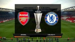 finale europa league in tv chelsea arsenal