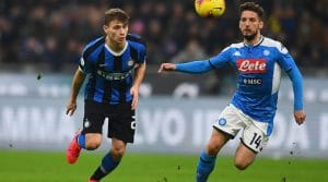 napoli inter coppa italia in tv streaming