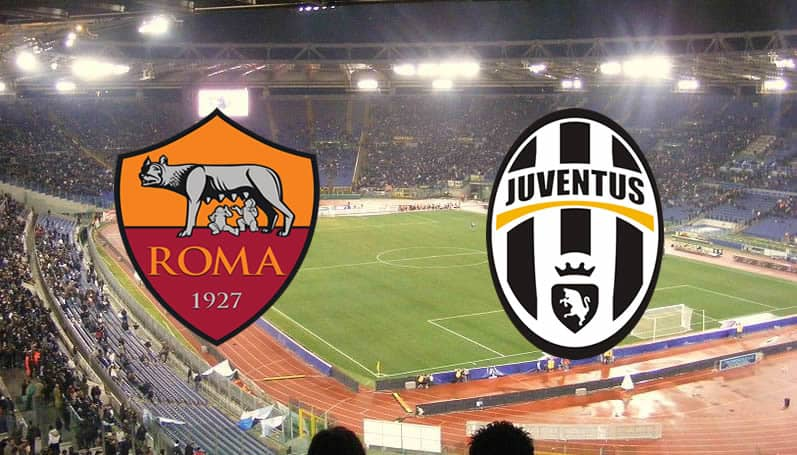 Roma Juventus in streaming e in tv