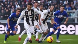 dove guardare sampdoria juventus in streaming