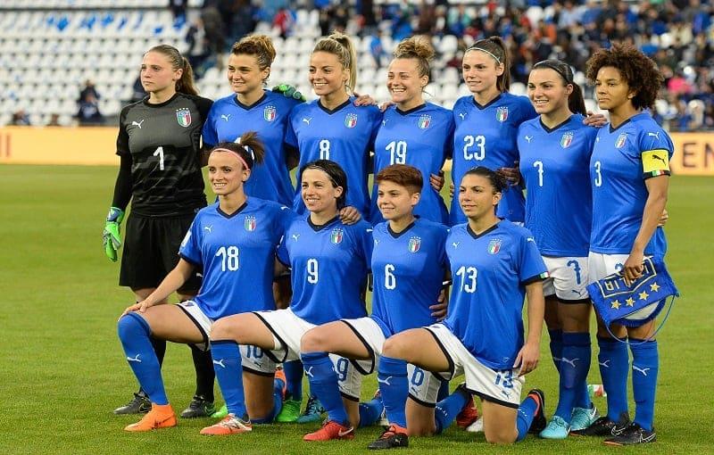 Mondiali di calcio femminile 2019 in streaming Italia Squadra di Calcio Femminile