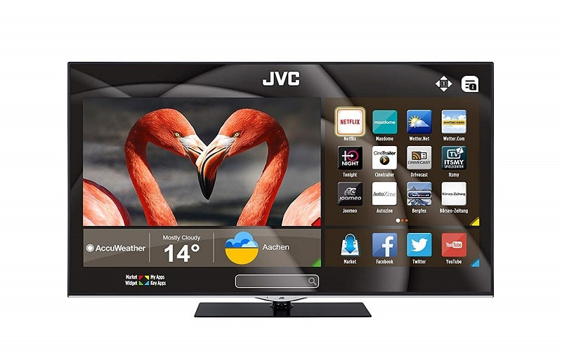 JVC LT-49VU800 smart tv hbbtv dvb-t2