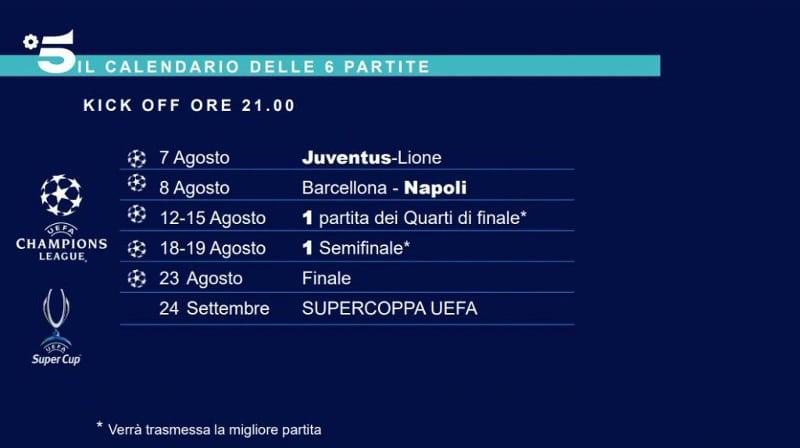 Champions-League-final-8-partite-in-chiaro-mediaset-canale-5