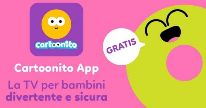 programmi cartoonito app streaming