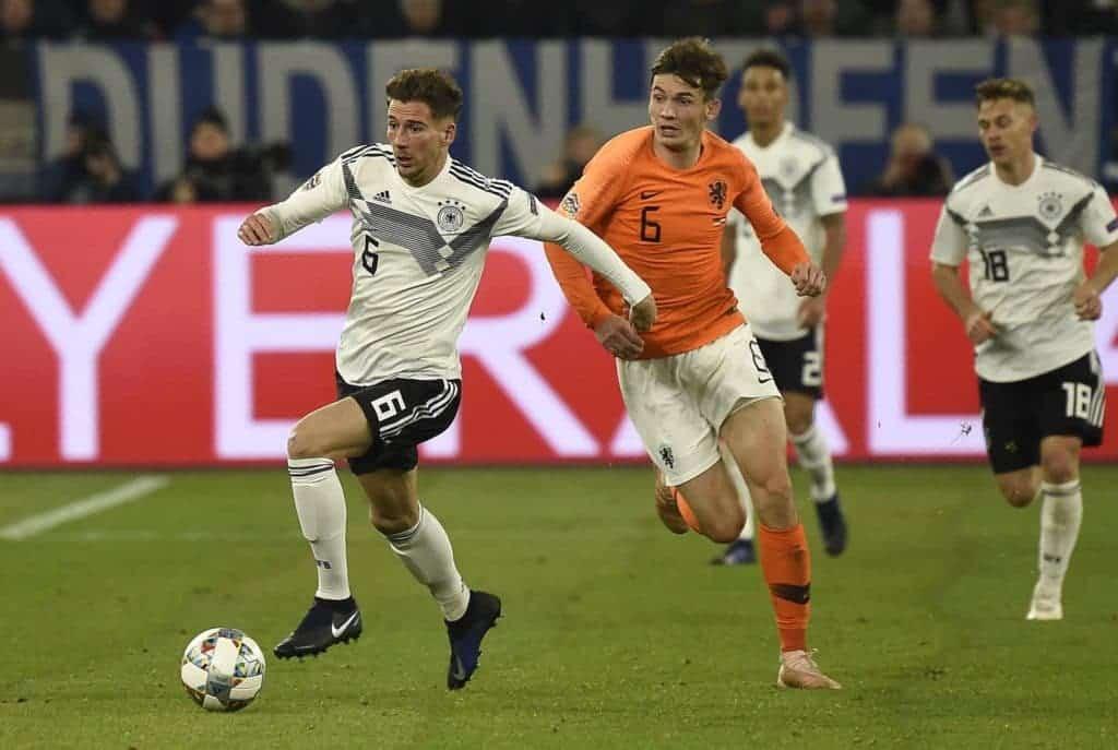 Germania Olanda Qualificazioni Europei 2020