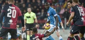 Napoli Cagliari 25 settembre 2019 tv streaming