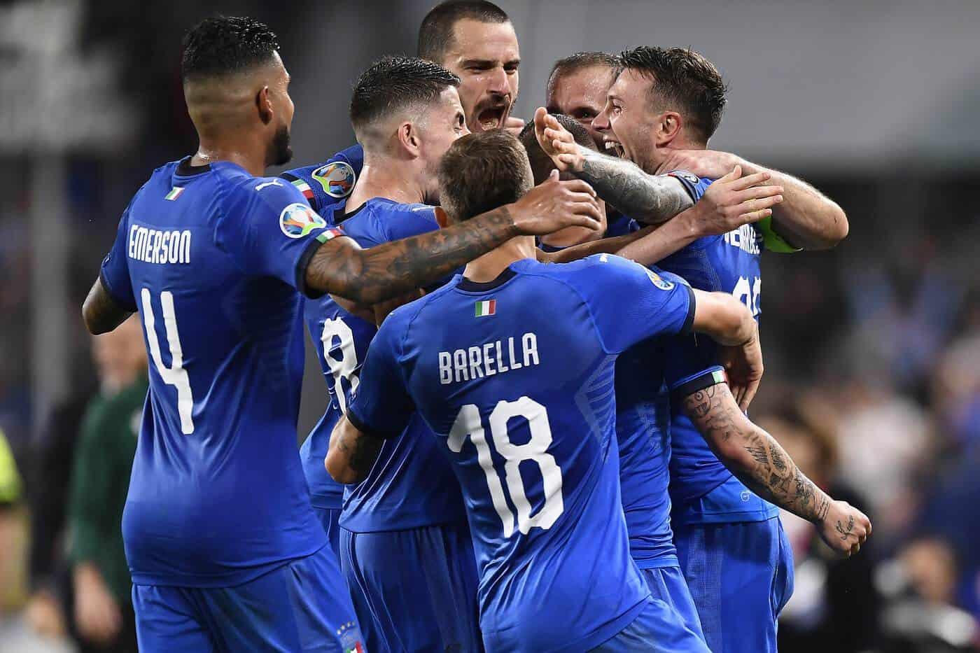 Italia vs Bosnia ed Erzegovina - Qualificazioni Euro 2020