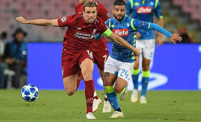 napoli liverpool 17 settembre 2019 streaming tv