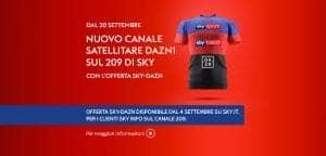 Offerta Sky DAZN canale 209 DAZN1, come vedere tutta la Serie A