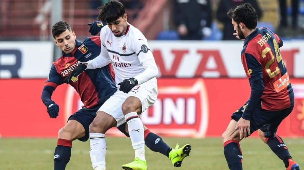 genoa milan in streaming gratis in tv dazn