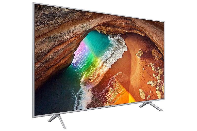 """Samsung QE65Q64RATXZT Serie Q64R, QLED Smart TV 65"""", Ultra HD 4K, Wi-Fi, Silver, 2019"""