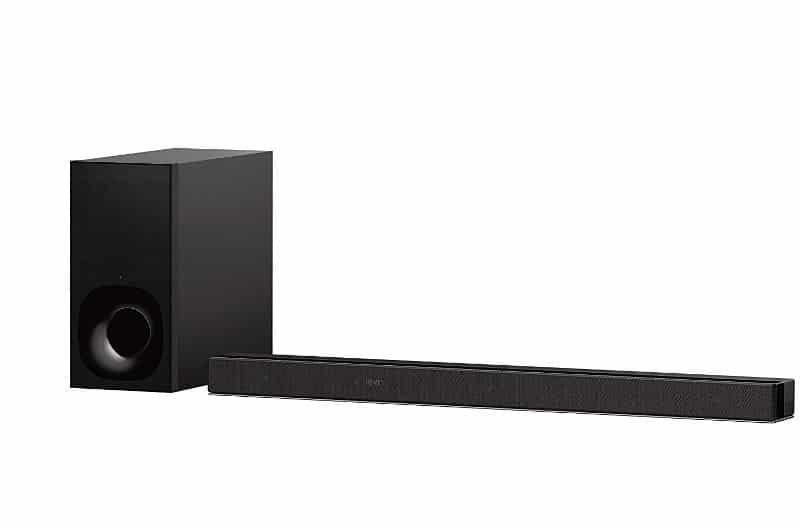 Sony HT-ZF9 | Soundbar 3.1 Canali Dolby Atmos con Subwoofer esterno, Compatibile con Amazon Alexa, Nero