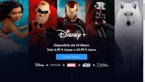 come funziona Disney+ quando esce in italia, prezzo e costo programmi tv catalogo