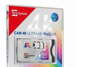 CAM Tivùsat 4K Ultra HD prezzo e come funziona