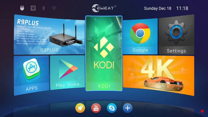 android-tv-box-interfaccia