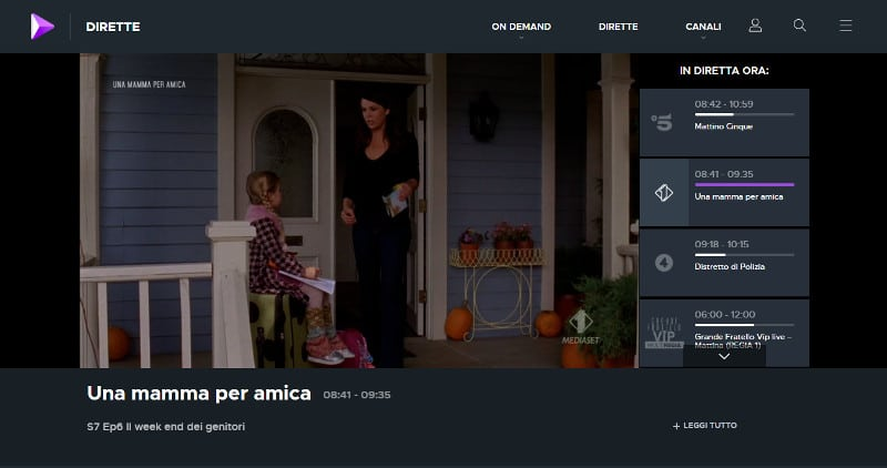 canale italia 1 streaming