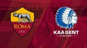europa league roma gent in tv in chiaro gratis