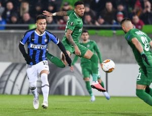 inter Ludogorets in streaming europa-league