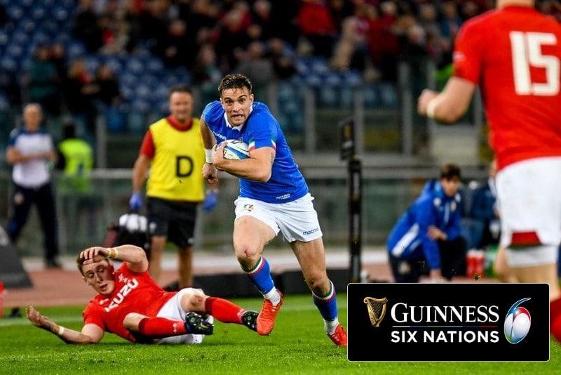 rugby 6 nazioni 2020 in tv e streaming