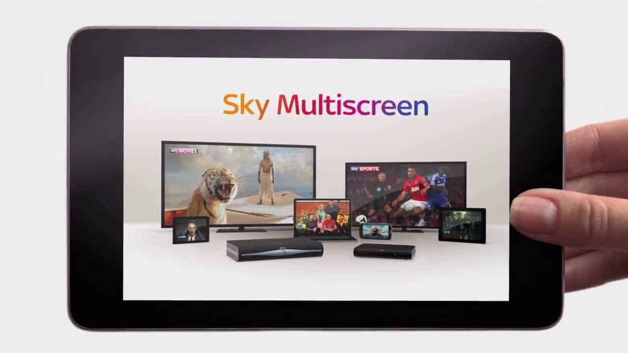 sky multiscreen prezzo come funziona come disdire