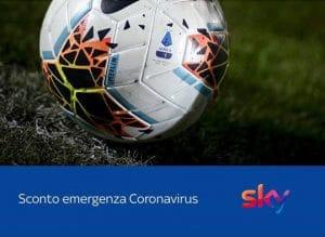 Come richiedere lo Sconto Emergenza Coronavirus per Sky