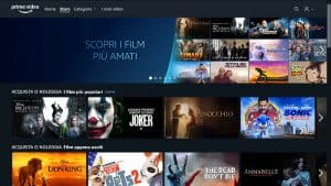 amazon prime video store noleggio film